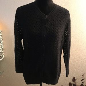 Croft & Barrow Cardigan sweater XL